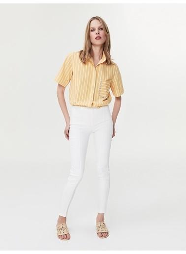 Ipekyol Skinny Pantolon Beyaz